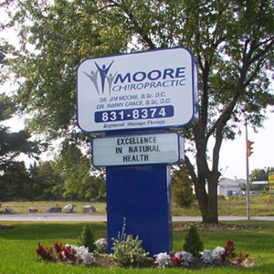 Moore sign